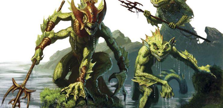 D&D 5e Aquatic Campaign – Monster & Hero Race Options