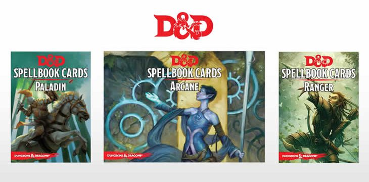 D&D 5e Spell Book Cards – Arrived