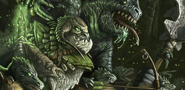 10 Awesome Monsters for a D&D 5e Swamp Encounter