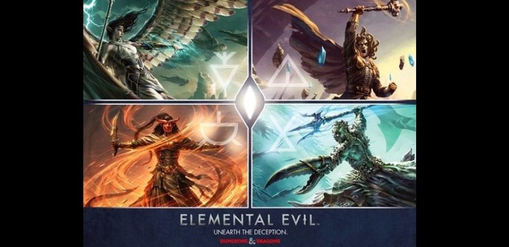 D&D Adventure System Game – Temple of Elemental Evil