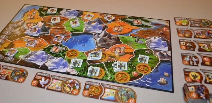 On the Table: Small World, Gateway Strategy Game for 2-6 players