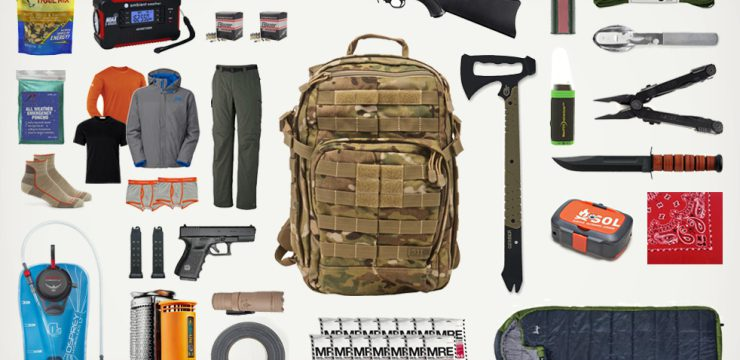 Survivalist Gaming: Fantasy Go-Bag
