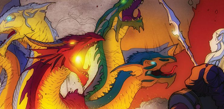 Tyranny of Dragons Online Comic – Entire Series (Complete)