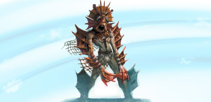 Aquatic Allies: Locathah for 5th edition