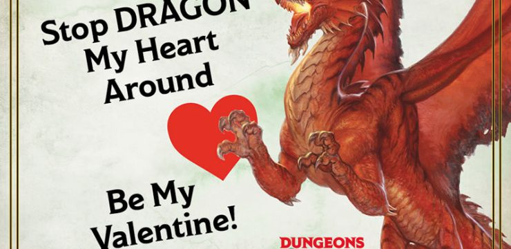 D&D Valentine's Day Cards