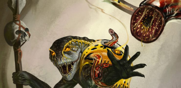 The Host – Infested Creatures for 5th edition