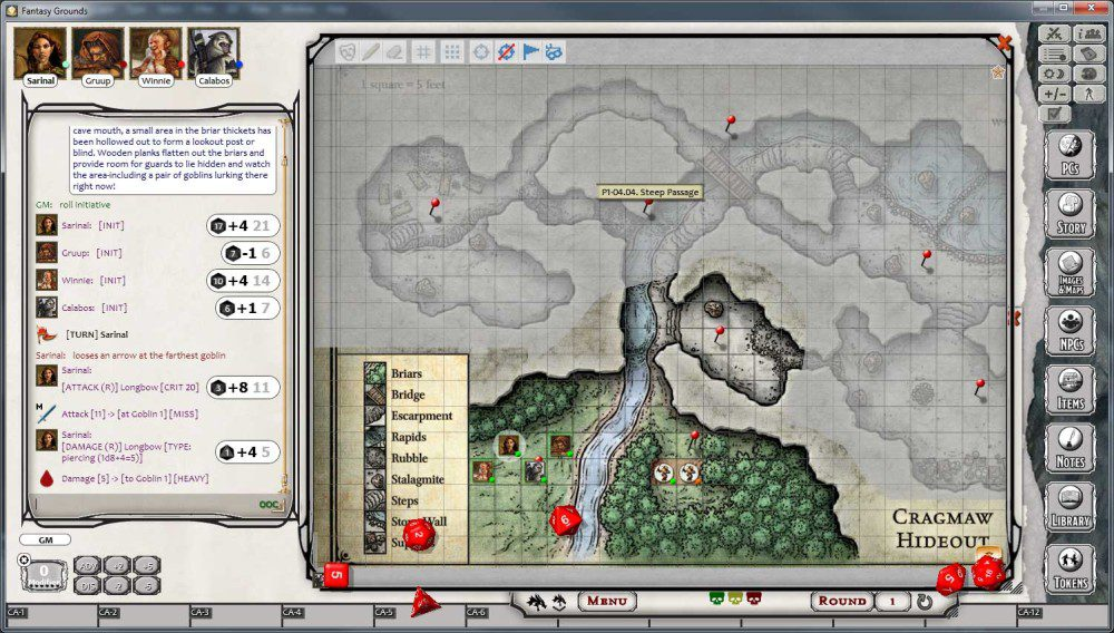 Fantasy Grounds Official D Amp D Virtual Tabletop License