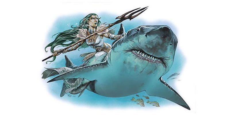 14 Aquatic Encounter Seeds for 1st-5th level Characters