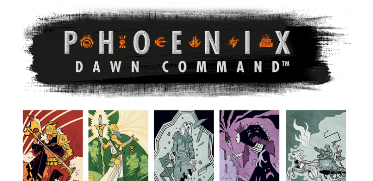 Phoenix: Dawn Command – A Card Based RPG – Kickstarter