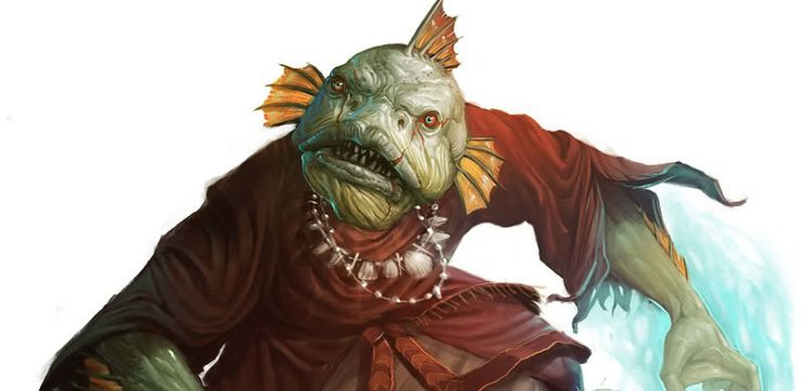 50 Aquatic Enemies for for 6th-10th level Characters