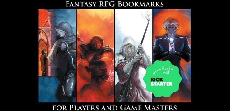 RPG Bookmark Kickstarter