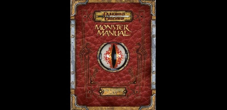 D&D 3.5 Monster Manual Available