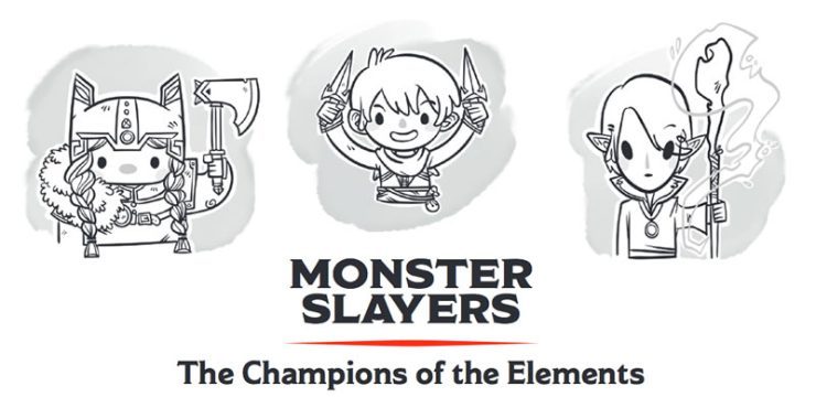 D&D for Kids? Monster Slayers: The Champions of the Elements