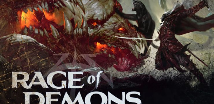 New D&D Trailer Shows Drizzt and Demons