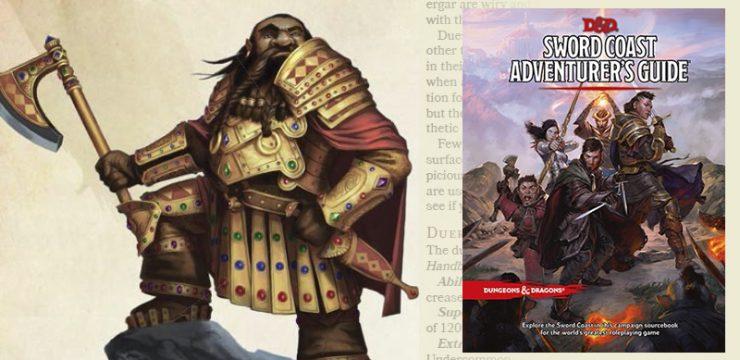Sword Coast Adventurer's Guide Preview – Duergar