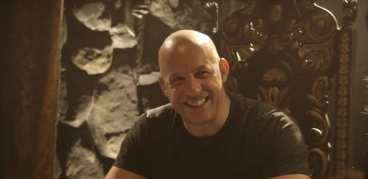 Vin Diesel playing D&D on the Nerdist