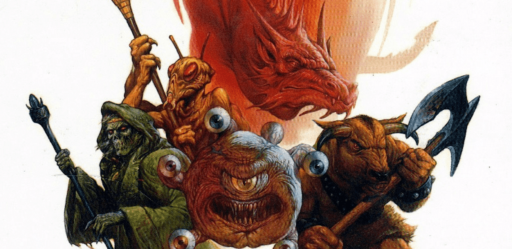 D&D Monstrous Manual for 5th edition – Part 1