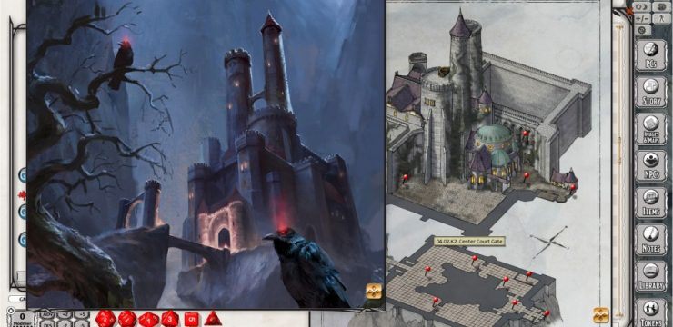 D&D Curse of Strahd Now Available for Fantasy Grounds