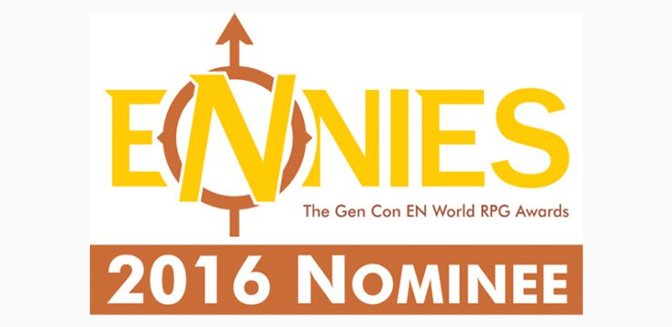 2016 ENNIE Nominees, Including Tribality!!!
