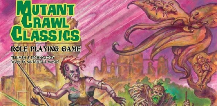 Goodman Games' Mutant Crawl Classics – Kickstarter