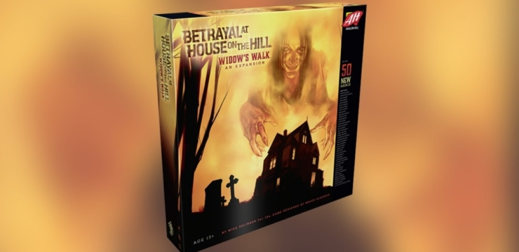 Widow's Walk – A Betrayal at House on the Hill Expansion by Avalon Hill