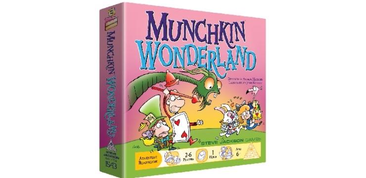 Munchkin Wonderland from Steve Jackson Games