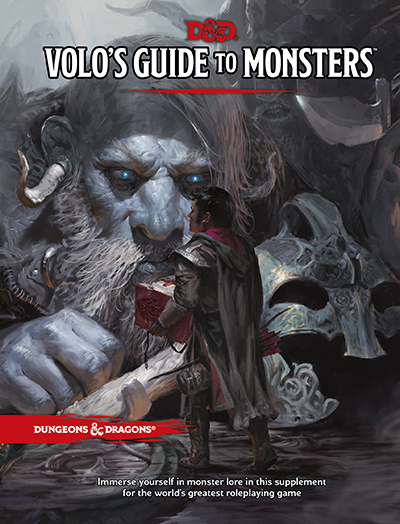 Volo's Guide to Monsters Cover