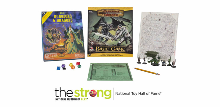 Dungeons & Dragons 2016 National Toy Hall of Fame Inductee