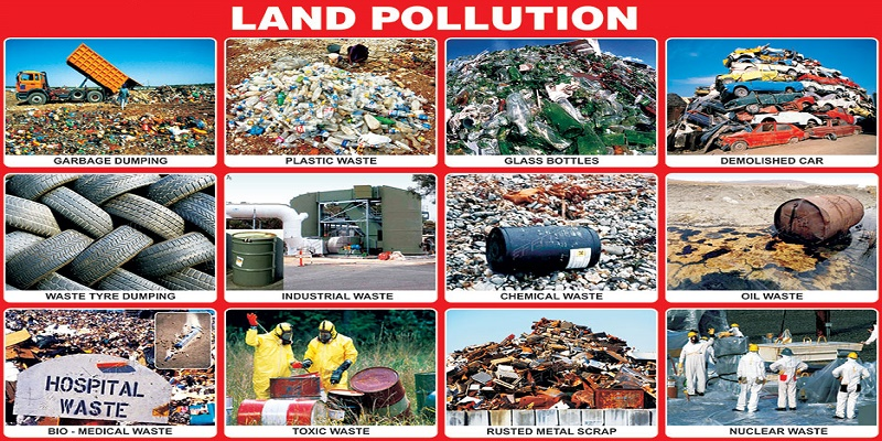 What Are Types of Environmental Pollution?
