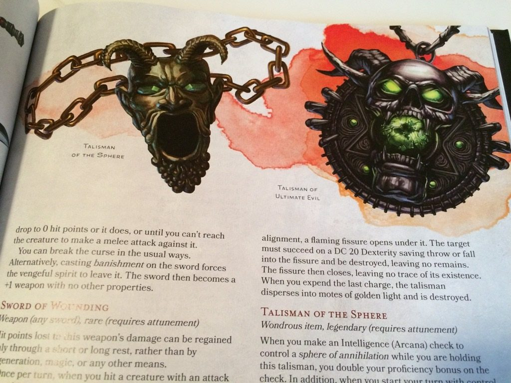 D&D 5th Edition Dungeon Master's Guide Preview Photo Gallery - Tribality