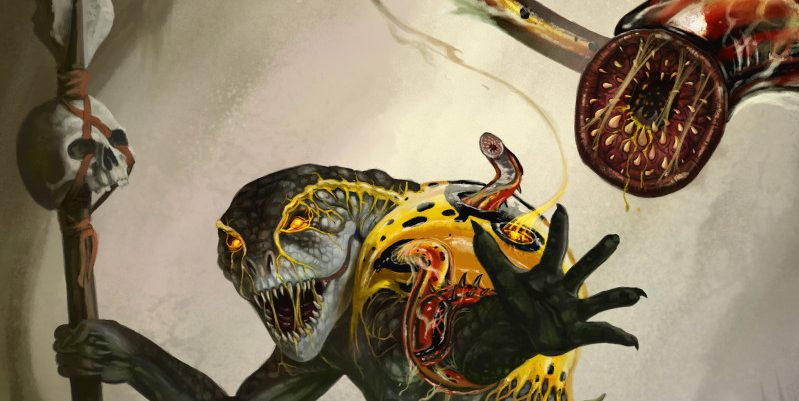 The Host - Infested Creatures for 5th edition - Tribality