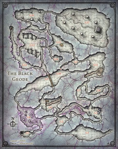 Forgotten Realms Map 5e