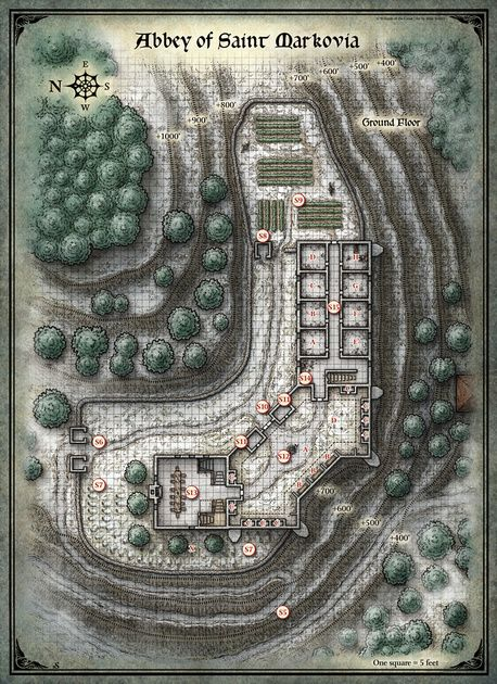 Fan image with regard to curse of strahd printable maps