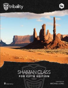 shaman class cover