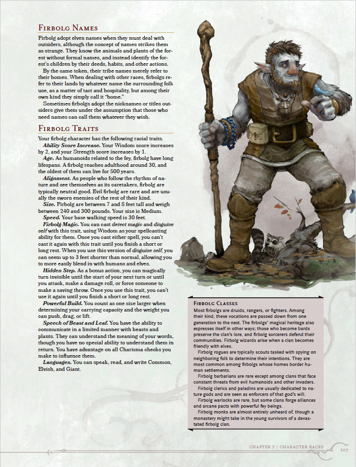 D Amp D Volo S Guide To Monsters Previews Collection Tribality