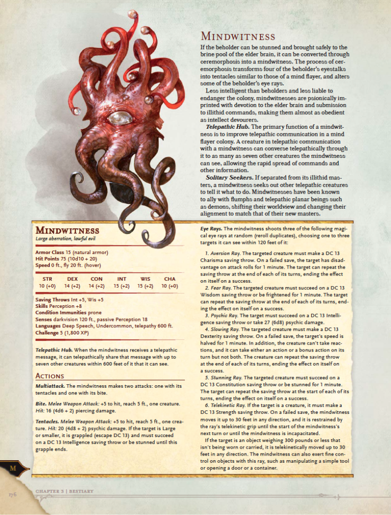 D D Volo S Guide To Monsters Previews Collection Tribality