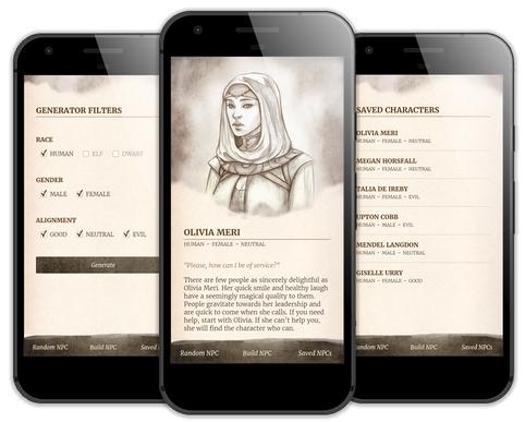 NPC for Hire app