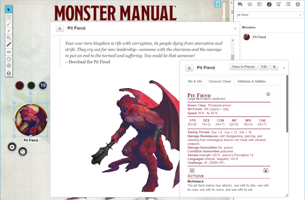 Roll20 to offer the Official D&D 5e Monster Manual - Tribality