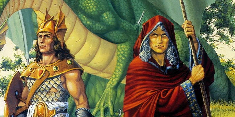 Raistlin ve Caramon Majere