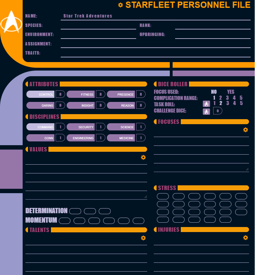 Star Trek Adventures Comes to Roll20 - Tribality