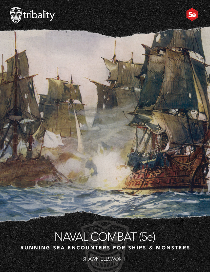 Naval Encounters for D&D 5th Edition - Tribality