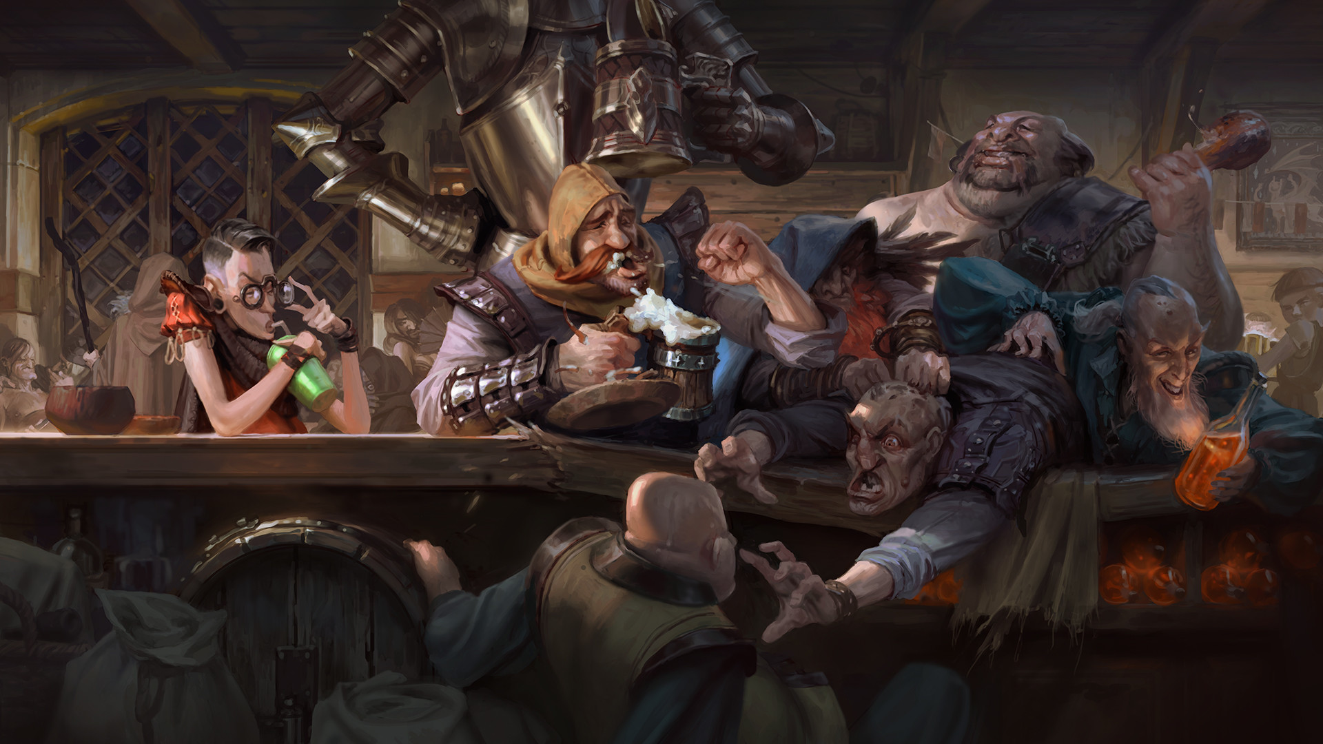 Image result for dnd art tavern