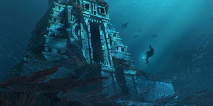 Underwater Temple