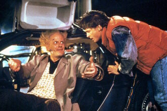 LLOYD,FOX, BACK TO THE FUTURE PART II, 1989