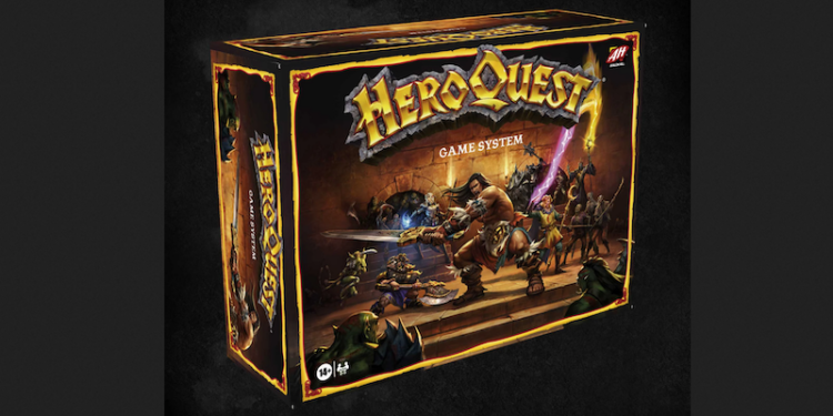 HeroQuest Game System Box