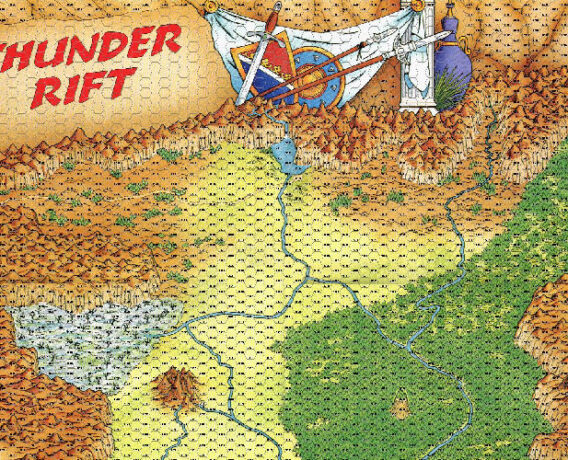 thunder rift map