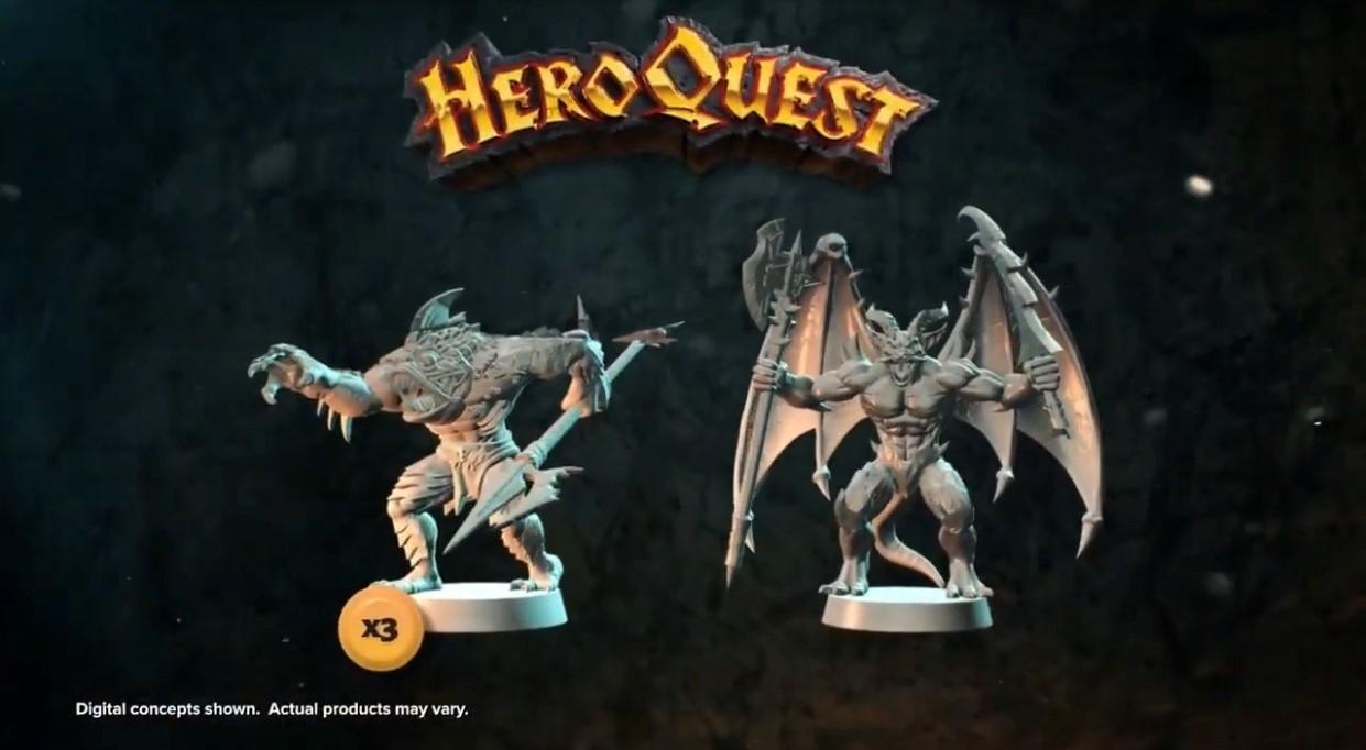 heroquest tokens