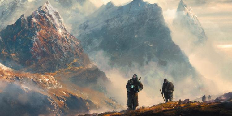 Through the Mountains by Nicholas Baum